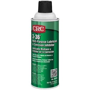 CRC 03005 A versatile petroleum based compound that forms a clear, thin film that lubricates and protects against wear and corrosion. Multi-purpose product lubricates, protects, displaces moisture, and cleans.