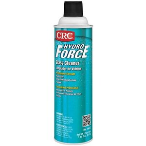 CRC 14412 HydroForce Glass Cleaner - 18oz Spray Bottle
