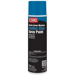 CRC 18202 Upside Down Marking Paint, 15oz Aerosol Can, Blue