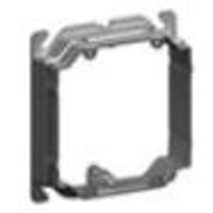 "Cablofil APR-2 4"" Square Cover, 2-Device, Mud Ring, 3/4"" - 1-1/2"" Raised, Drawn"