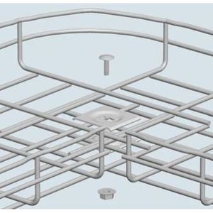 Cablofil CE40GC Square Splice Washer, Hot Dipped