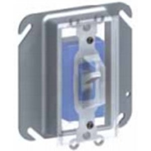 Cablofil DCP1 Device Cover, 1-Gang, Vertical Mount, Plastic