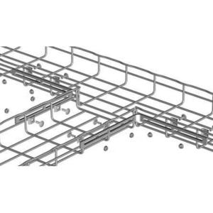 Cablofil EZT90EZ Cable Tray Junction Kit, 90 Degree, Carbon Steel