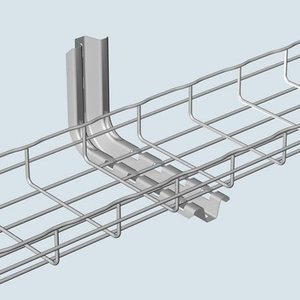 """Cablofil FASL300PG Cable Tray L-Bracket, 12"""" W x 15"""" Long"""