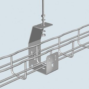 Cablofil SF50PG Cable Tray Hanger, Center, 2""