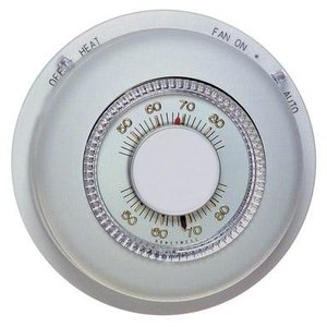 Cadet T87K1007 Thermostat, Non-Programmable, 24V AC, Wall Mount, Heat Only
