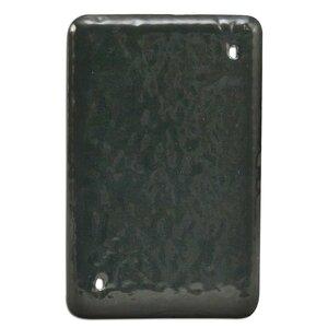 Calbond PV0000DS100 1-Gang, PVC Coated Aluminum Blank Cover