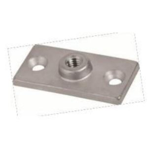 """Calbrite S60300SPMP Split Ring Mounting Plate,(L)1.350 x (W)2.750"""", Stainless Steel"""