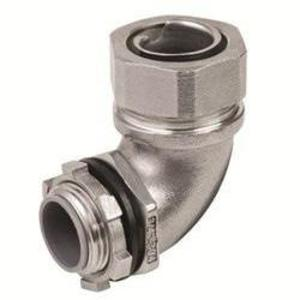 "Calbrite S60500FC90 1/2"" Flexible Liquidtight Connector, 90 D"