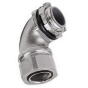"""Calbrite S60700FC45 3/4"""" Flexible Liquidtight Connector, 45 D"""