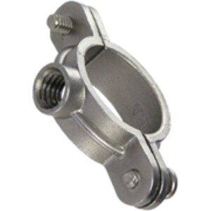 "Calbrite S60700SP00 Split Ring Clamp, 3/4"", Stainless Steel"