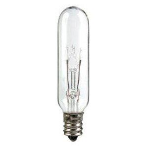 Candela 15T6-145V-I Incandescent Bulb, T6, 15W, 145V, Clear
