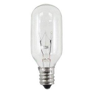 Candela 40T8130VCS Incandescent Bulb, T8, 40W, 130V, Clear
