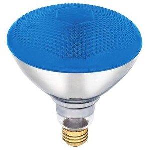 Candela ABCO-04414 Incandescent Reflector Lamp, BR38, 100W, 120V, Blue