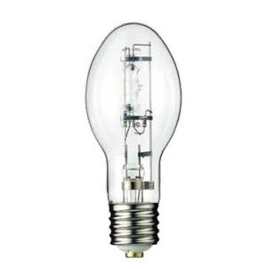Candela H1000B Mercury Vapor Lamp, BT56, 1000W, Clear