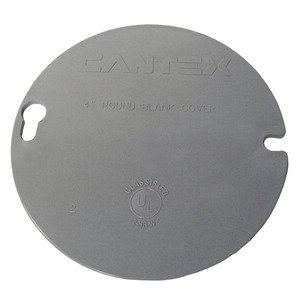 Cantex EZYKL 4 ROUND BLANK COVER