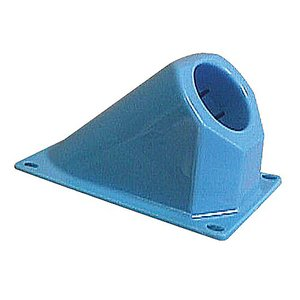 "Carlon A220J ENT 45° Vertical Stub Down, 2"", Blue Non-Metallic"