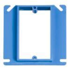 "Carlon A410 4"" Square ENT Box Extender, 1/2"" Raised, Non-Metallic"