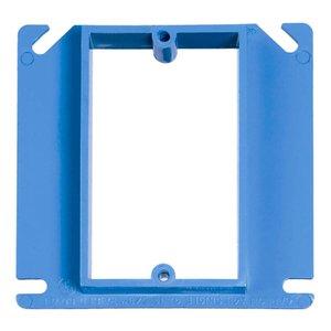 "Carlon A414 4"" Square Box Cover, 1-Gang, Non-Metallic"