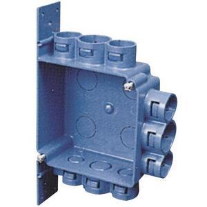 """Carlon A5329DE 4"""" Square, ENT Outlet/Switch Box with Bracket"""