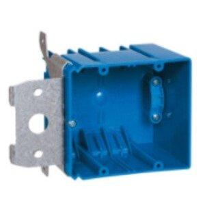 """Carlon B234ADJC Range/Dryer Box, 2-Gang, Depth: 3"""", Non-Metallic"""