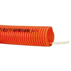 "Carlon CG4X1C-900 Plenum-Gard Corrugated Flexible Conduit w/ Tape, 1-1/4"", Yellow, 900'"