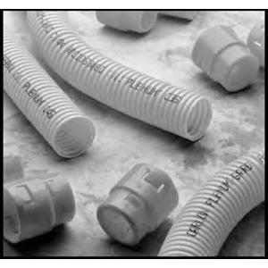 "Carlon CH4X1C-150 Plenum-Gard Corrugated Flexible Conduit w/ Tape, 1-1/2"", Yellow, 150'"