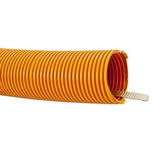 "Carlon DJ4X1C-2800 Riser-Gard Corrugated Flexible Conduit w/ Tape, 2"", Orange, 2800'"