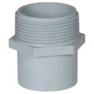 """Carlon E920F PVC Conduit Repair, Male Adapter, 1"""""""