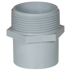 "Carlon E920G 1-1/4"" Pvc Conduit Repair Male Ta"