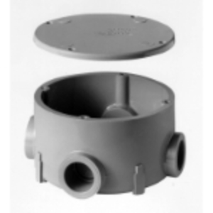 "Carlon E970CE Conduit Body Junction Box, Type: X, Size: 3/4"", Material: PVC"