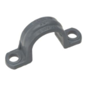 "Carlon E977EC PVC Conduit Strap, 2-Hole, Size: 3/4"", Material: Non-Metallic"