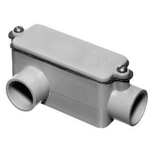 """Carlon E985G 1-1/4"""" LR PVC Conduit Fitting"""