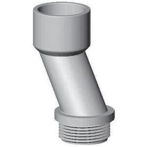 "Carlon E995G Nipple, 1-1/4"", Offset, PVC"