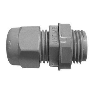 "Carlon LH75 3/4"" NPT Black Non-Metallic Cord Grip, 0.450-0.709"""