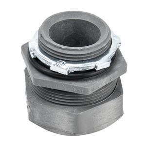 """Carlon LT43G Liquidtight Connector, 1-1/4"""", Straight, Non-Metallic"""