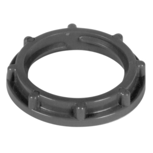 "Carlon LT9LE PVC Lock Nut, Size: 3/4"", Material: PVC"