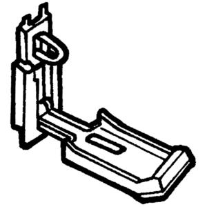 Carlon NPL1L Latch Kit, NH and NI Hidden Hinge, Non-Metallic, Limited Quantities Available