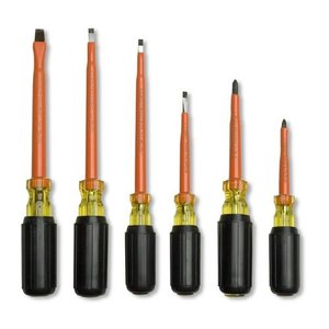 Cementex TR-6SD 6-Piece Screwdriver Roll