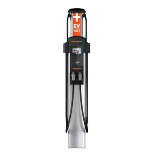 ChargePoint CT4021 Vehicle Charging Station, Level 2, Dual Port, Bollard Mount