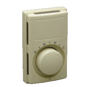 Chatham Brass M612WT Bimetal Thermostat, Double Pole, 120-277V, Ivory