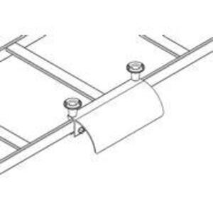 "Chatsworth 12101-702 Runway Radius Drop, Stringer, 7-3/4"" Wide, Black"