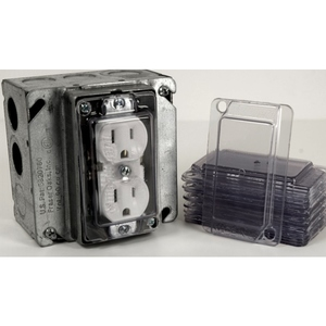 Clear Industries DCP-1 DCP1  1 GANG COVER
