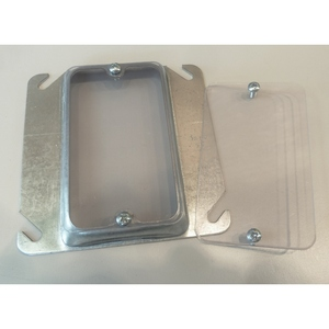 Clear Industries FP-1 CLER FP-1 1 GANG 60 MIL PVC FLAT