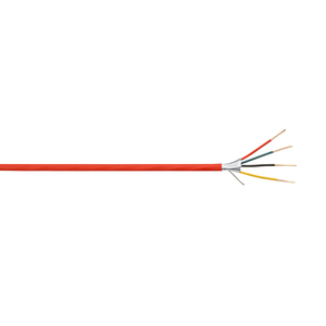 Coleman Cable 858040604 18/4 AWG, FPLP/CL2P, Plenum, Shielded, Fire Alarm Cable