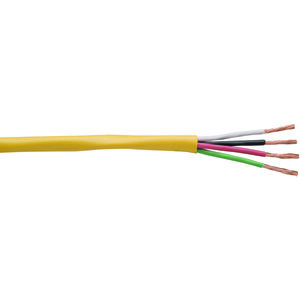 Coleman Cable 947440502 14/4 AWG, CM/CL3, Copper, 65 Strand, Indoor, Round Speaker Cable