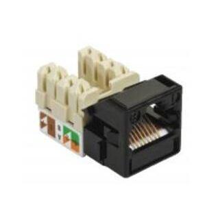 Commscope CC0020511/1 Snap-In Jack, UNJ500, CAT5e, U/UTP, Black