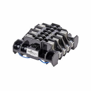 Cooper B-Line 10015CTB Meter Socket, Only, Current Transformer, 20A, 15 Jaw, 3PH, Back Load