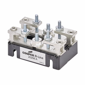 Cooper B-Line 20258A Meter Base, Test Block, 100A, 2P, for TB Sockets