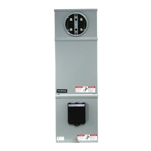 Cooper B-Line 214-MTB Meter Mains, No Distribution, 100A, 120/240VAC,